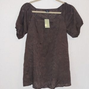 BABYSTYLE  WOMEN'S blouse  size  S NWT